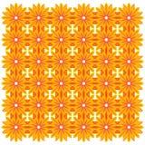 Διάνυσμα ανασκόπησης λουλουδιών στοκ εικόνες