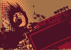 διάνυσμα ανασκόπησης grunge Στοκ εικόνες με δικαίωμα ελεύθερης χρήσης
