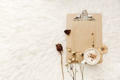 διάνυσμα απεικόνισης διακοσμήσεων Χριστουγέννων ανασκόπησης Στοκ Φωτογραφία
