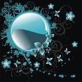 διάνυσμα απεικόνισης λουλουδιών φαντασίας Στοκ φωτογραφίες με δικαίωμα ελεύθερης χρήσης
