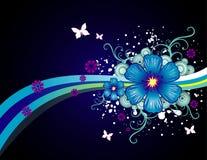 διάνυσμα απεικόνισης λουλουδιών Στοκ εικόνα με δικαίωμα ελεύθερης χρήσης