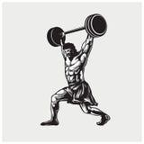 Διάνυσμα απεικόνισης της γυμναστικής Στοκ Εικόνες