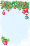 διάνυσμα απεικόνισης Χριστουγέννων ανασκόπησης απεικόνιση αποθεμάτων