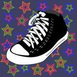 διάνυσμα αστεριών παπουτ& ελεύθερη απεικόνιση δικαιώματος