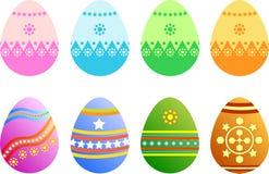 διάνυσμα αυγών Πάσχας Στοκ εικόνα με δικαίωμα ελεύθερης χρήσης