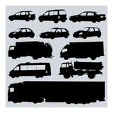 διάνυσμα αυτοκινήτων Στοκ Εικόνες