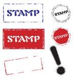 διάνυσμα γραμματοσήμων Στοκ Εικόνα