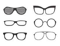 Διάνυσμα γυαλιών Στοκ Εικόνες