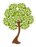 διάνυσμα δέντρων απεικόνι&sigma Στοκ φωτογραφία με δικαίωμα ελεύθερης χρήσης