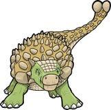 διάνυσμα δεινοσαύρων ankylosaurus Στοκ Εικόνα