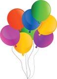 διάνυσμα διακοπών μπαλονιών διανυσματική απεικόνιση