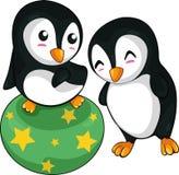 διάνυσμα διασκέδασης penguin Στοκ εικόνες με δικαίωμα ελεύθερης χρήσης