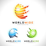 Διάνυσμα επιχειρησιακών λογότυπων σφαιρών ελεύθερη απεικόνιση δικαιώματος