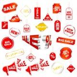 διάνυσμα ετικεττών πώληση&s Στοκ φωτογραφίες με δικαίωμα ελεύθερης χρήσης
