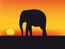 διάνυσμα ηλιοβασιλέματ&omic διανυσματική απεικόνιση