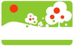 διάνυσμα κήπων μήλων διανυσματική απεικόνιση