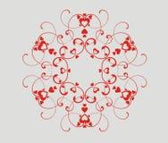 διάνυσμα καρδιών στοιχεί&ome διανυσματική απεικόνιση