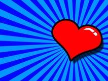 διάνυσμα καρδιών Στοκ Εικόνα