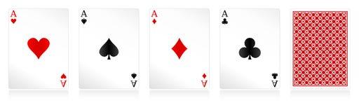 διάνυσμα καρτών Στοκ Εικόνα