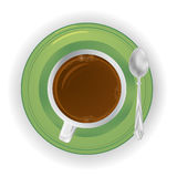 Διάνυσμα καφέ Στοκ Φωτογραφία