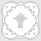 Διάνυσμα κεραμικών κεραμιδιών Στοκ Φωτογραφίες