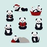 Διάνυσμα κινούμενων σχεδίων της Panda Στοκ φωτογραφίες με δικαίωμα ελεύθερης χρήσης