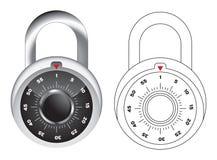 διάνυσμα κλειδωμάτων απ&epsilo Στοκ φωτογραφίες με δικαίωμα ελεύθερης χρήσης