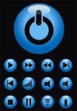 διάνυσμα κουμπιών φ Στοκ φωτογραφία με δικαίωμα ελεύθερης χρήσης