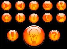διάνυσμα κουμπιών Στοκ φωτογραφία με δικαίωμα ελεύθερης χρήσης