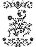 διάνυσμα κυλίνδρων ντεκόρ διακοσμητικών πλαισίων Στοκ εικόνα με δικαίωμα ελεύθερης χρήσης