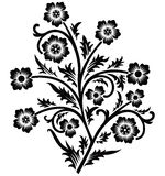 διάνυσμα κυλίνδρων ντεκόρ διακοσμητικών πλαισίων Στοκ εικόνες με δικαίωμα ελεύθερης χρήσης
