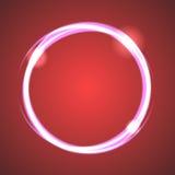 Διάνυσμα κύκλων έκλειψης επίδρασης πυράκτωσης απεικόνιση αποθεμάτων