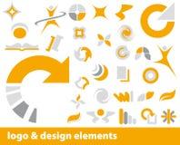 διάνυσμα λογότυπων στοιχείων Στοκ φωτογραφίες με δικαίωμα ελεύθερης χρήσης