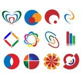 διάνυσμα λογότυπων σχεδί Στοκ Φωτογραφίες
