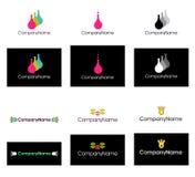 διάνυσμα λογότυπων Στοκ Φωτογραφίες