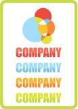 διάνυσμα λογότυπων Στοκ Εικόνα