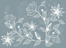 διάνυσμα λουλουδιών αν&a Στοκ φωτογραφίες με δικαίωμα ελεύθερης χρήσης