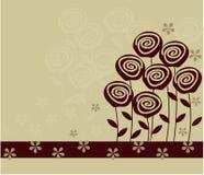 διάνυσμα λουλουδιών αν&a Στοκ Φωτογραφίες