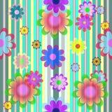 διάνυσμα λουλουδιών χρώ&m Στοκ εικόνα με δικαίωμα ελεύθερης χρήσης