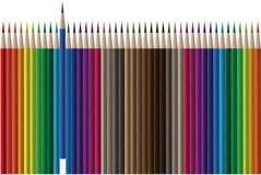 διάνυσμα μολυβιών Στοκ εικόνα με δικαίωμα ελεύθερης χρήσης