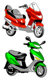 διάνυσμα μοτοσικλετών εικονιδίων Στοκ φωτογραφία με δικαίωμα ελεύθερης χρήσης