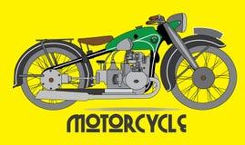 Διάνυσμα μοτοσικλετών, Motorbiker, μεταφορά Απεικόνιση αποθεμάτων