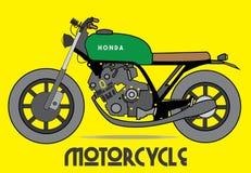 Διάνυσμα μοτοσικλετών, Motorbiker, μεταφορά Διανυσματική απεικόνιση