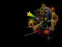 διάνυσμα μουσικής απεικ ελεύθερη απεικόνιση δικαιώματος