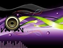 διάνυσμα μουσικής απεικ διανυσματική απεικόνιση