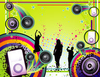 διάνυσμα μουσικής σύνθε&sig στοκ φωτογραφίες με δικαίωμα ελεύθερης χρήσης