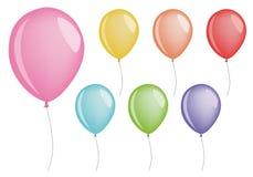 διάνυσμα μπαλονιών διανυσματική απεικόνιση