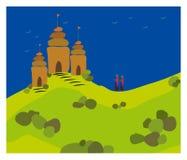 διάνυσμα ναών Στοκ Εικόνες