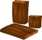 διάνυσμα ξυλείας απεικό&nu Στοκ Φωτογραφίες