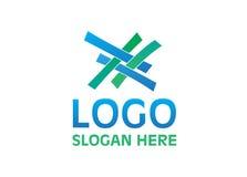 Διάνυσμα - λογότυπο ενότητας, που απομονώνεται στο άσπρο υπόβαθρο επίσης corel σύρετε το διάνυσμα απεικόνισης ελεύθερη απεικόνιση δικαιώματος